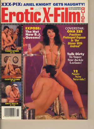 Erotic X-Film Guide - 1988-11