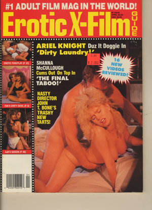 Erotic X-Film Guide - 1989-04