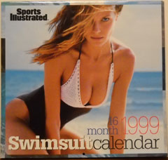 1999 16 Month Swimsuit Calendar