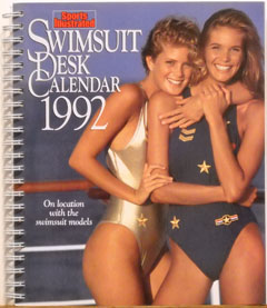 1992 Swimsuit Desk Calendar