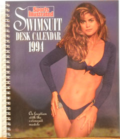 1994 Swimsuit Desk Calendar