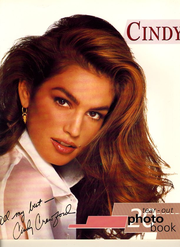 Cindy Crawford - Tear -Out Photo Book
