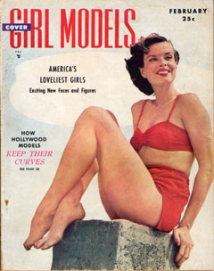 Cover Girl Models - 1950-02