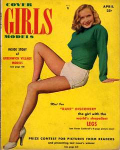 Cover Girls Models - 1950-04