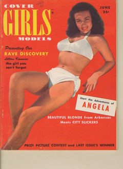 Cover Girls Models - 1950-06