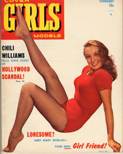 Cover Girls Models - 1951-02