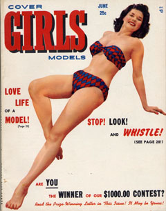 Cover Girls Models - 1951-06