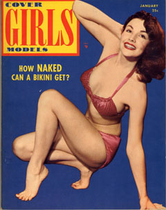 Cover Girls Models - 1953-01