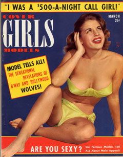 Cover Girls Models - 1953-03