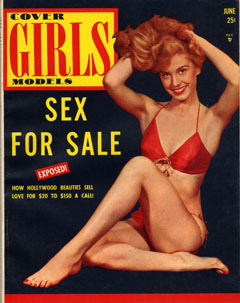 Cover Girls Models - 1954-06