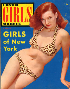 Cover Girls Models - 1954-08
