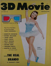 3-D Movie Magazine - 1953-10