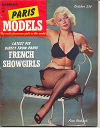 Famous Paris Models - 1952-10