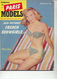 Famous Paris Models - 1952-12