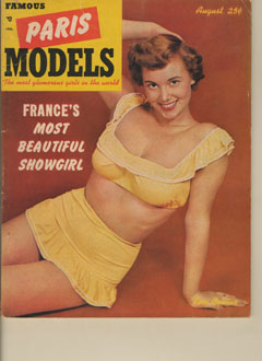 Famous Paris Models - 1952-08