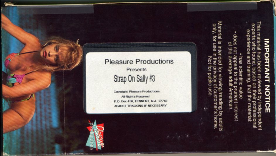 Strap On Sally # 3