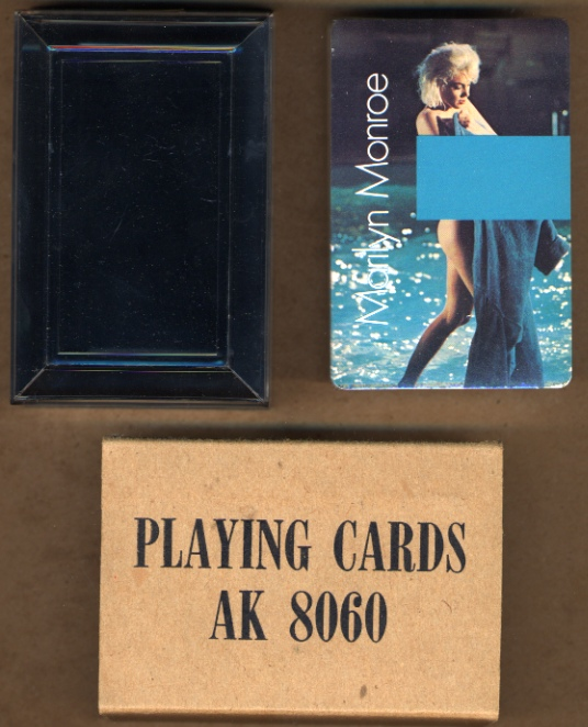 Marilyn Monroe - Playing Cards - Color