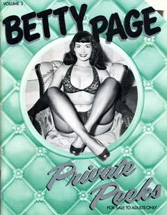 Betty Page: Private Peeks - v3