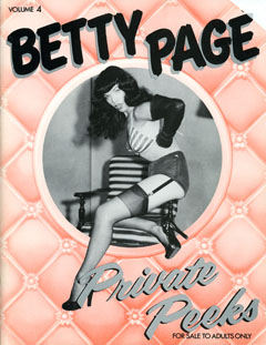 Betty Page: Private Peeks - v4